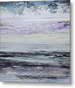 Winter Light Hauxley Haven Metal Print