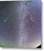 Winter Milky Way From New Mexico Metal Print