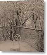 Winter Of One Metal Print