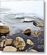 Winter Quabbin Metal Print