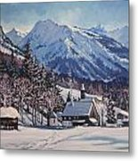 Winter Reverie Metal Print