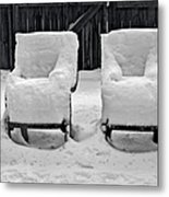 Winter Romance Metal Print