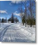 Winter Scape 1 Metal Print