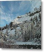 Winter Scene Metal Print by Jeff Swan
