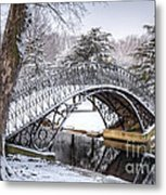 Winter Scenic Metal Print
