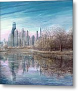 Winter Serenity Frost Metal Print by Doug Kreuger