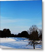 Winter Shadows  Metal Print