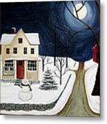 Winter Solo Metal Print