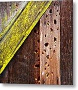 Winter Storage Metal Print