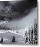 Winter Storm Clears Metal Print