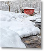 Winter Stream Metal Print by Bill Wakeley