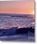 Winter Sunset In Laguna Beach IIi Metal Print