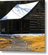 Winter Time At Carter Sheilds Place Metal Print