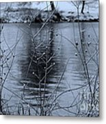 Winter Touch Metal Print