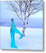 Winter Tree Empress Metal Print