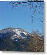 Winter Vista From Grants Pass Metal Print