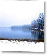 Winter Watercolor Metal Print