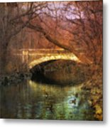 Winter Waters Metal Print