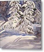Winter Wonder Metal Print