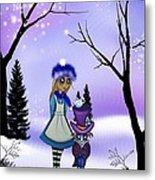 Winter Wonderland Metal Print by Charlene Murray Zatloukal