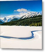 Winters Calm Metal Print