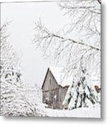 Winter's End Metal Print