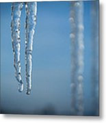 Winter's Fangs Metal Print