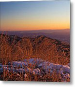 Winter's Splendor Metal Print by Heidi Smith