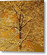 Winters Touch Metal Print