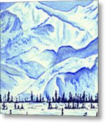 Winter's White Blanket Metal Print
