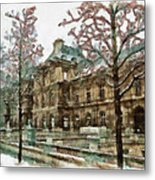 Wintertime Sadness Metal Print