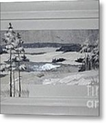 Wintry Dream Metal Print by Yakubouskaya Olga