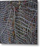 Wire Mesh Metal Print