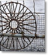 Wired Wire On Wire Metal Print