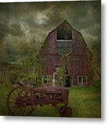 Wisconsin Barn 3 Metal Print