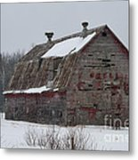 Wisconsin Barn Metal Print