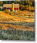 Wisconsin - Country Morning Metal Print