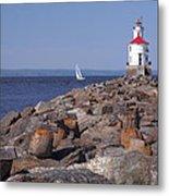 Wisconsin Point Lighthouse 1 K Metal Print