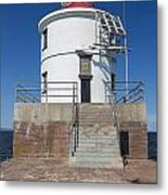 Wisconsin Point Lighthouse 6 F Metal Print