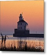 Wisconsin Point Lighthouse - Fs000216 Metal Print
