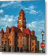 Wise County Courthouse Metal Print
