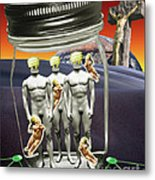 Wise Men 2.0 2011 Metal Print