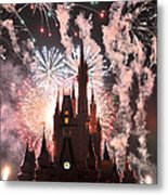 Wishes In The Dark Metal Print