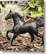 Wishing Horse Metal Print