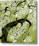 Wishing Tree Metal Print by Anastasiya Malakhova