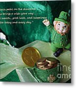 Wishing You A Happy St. Patricks Day Metal Print