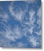 Wispy Clouds Metal Print