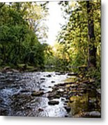 Wissahickon Creek Near Bells Mill Metal Print