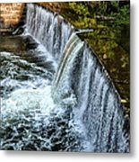 Wissahickon Dam At Ridge Avenue - Side View Metal Print