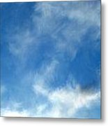 Wistfulness In The Sky  Metal Print